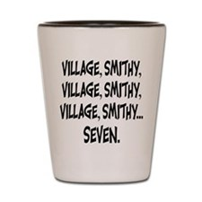 Village Smithy Shot Glass