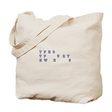 Court Reporting DUDE No Further Questions Tote Bag