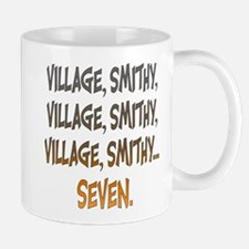 Village Smithy Gold Mugs
