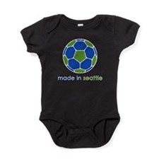 Cute Seattle sounders Baby Bodysuit