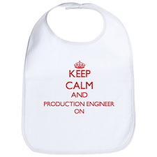 Keep Calm and Production Engineer ON Bib
