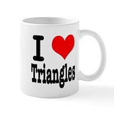 I Heart (Love) Triangles Mug