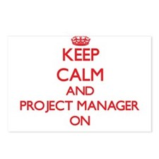 Keep Calm and Project Man Postcards (Package of 8)