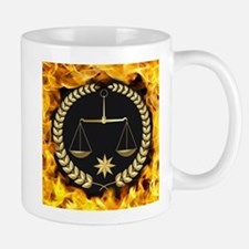 Flaming Justice Mugs