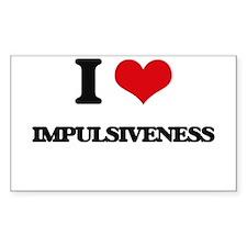 I Love Impulsiveness Decal
