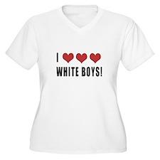 I love White boys T-Shirt