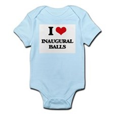 I Love Inaugural Balls Body Suit