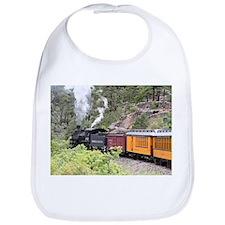 Steam train engine, Colorado, USA, 9 Bib