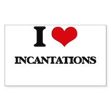 I Love Incantations Decal