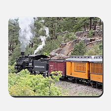 Steam train engine, Colorado, USA, 9 Mousepad