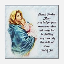 ProLife Prayer Tile Coaster