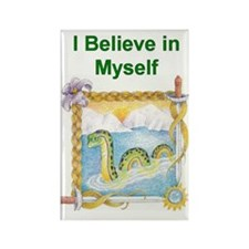 Nessie I Believe In Myself Magnets