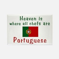Portuguese Chefs Rectangle Magnet