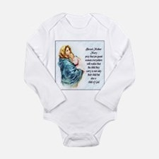 ProLife Prayer Long Sleeve Infant Bodysuit