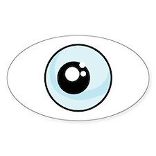 Eyeball Oval Decal