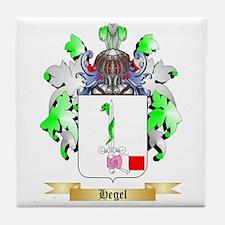 Hegel Tile Coaster