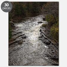 Roaring Brook Upper Falls 1 Puzzle