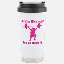 Funny Fitness women Travel Mug