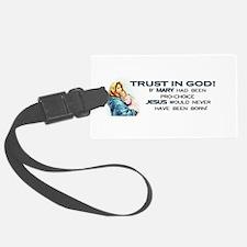 Trust in God Luggage Tag