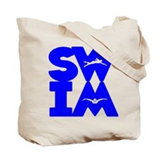 SWIM BLOCK Tote Bag