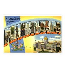 Greetings from Pennsylvania Postcards (Package of
