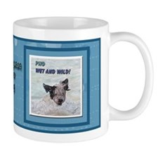 Portuguese Water Dog Wet and  Mug
