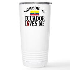 Cute Ecuador Travel Mug