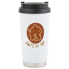 Cute Hockey equipment Travel Mug