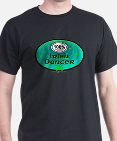 100 PERCENT IRISH DANCER T-Shirt