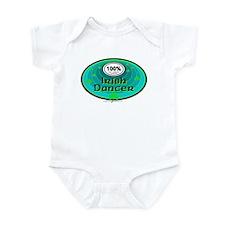 100 PERCENT IRISH DANCER Infant Bodysuit