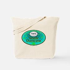 100 PERCENT IRISH DANCER Tote Bag