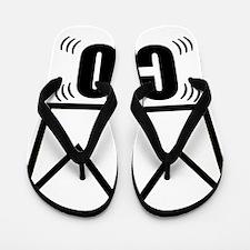 CEO Platinum Crown Flip Flops