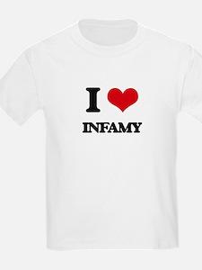 I Love Infamy T-Shirt