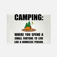 Camping Homeless Magnets