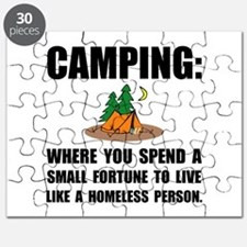 Camping Homeless Puzzle