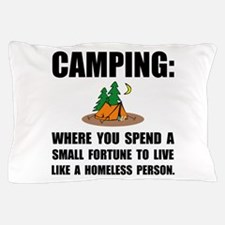 Camping Homeless Pillow Case