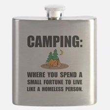 Camping Homeless Flask