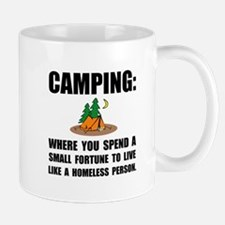 Camping Homeless Mugs