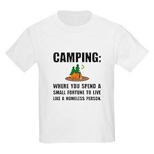 Camping Homeless T-Shirt