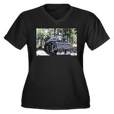 Steam train engine, Flagstaff, A Plus Size T-Shirt