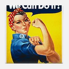 Rosie the Riveter Tile Coaster