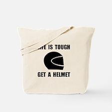Life Tough Get Helmet Tote Bag
