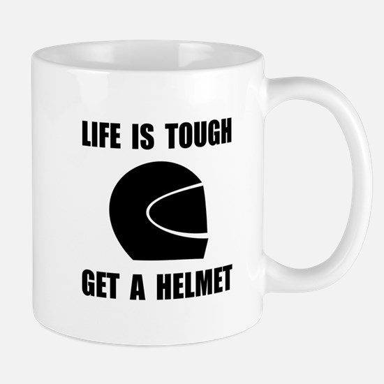 Life Tough Get Helmet Mugs
