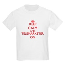Keep Calm and Telemarketer ON T-Shirt