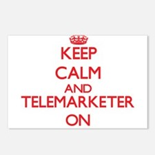 Keep Calm and Telemarkete Postcards (Package of 8)