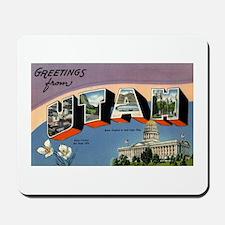 Greetings from Utah Mousepad
