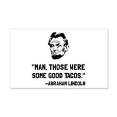 Lincoln Good Tacos Wall Decal