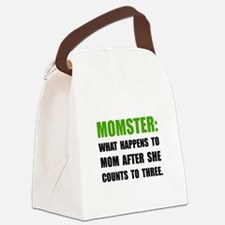 Momster Mom Canvas Lunch Bag