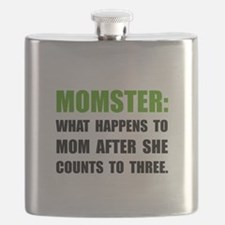 Momster Mom Flask