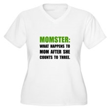 Momster Mom Plus Size T-Shirt